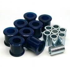 Комплект вътрешни и външни полиуретанови тампони за долни носачи на задния мост Super pro - Subaru Impreza/Forester