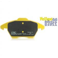 Задни накладки EBC Brakes Yellowstuff - MITSUBISHI Lancer Evo 10 2.0 Turbo 2008 – 2013