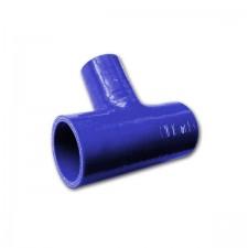 Силиконов маркуч Siliconhoses - T образно съединение - синьо