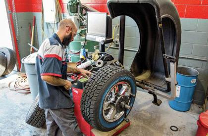монтаж, демонтаж и баланс на гуми